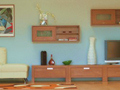Living room furniture wall units